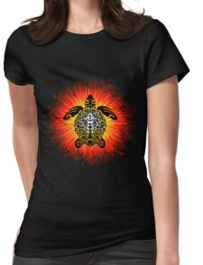 Turtle and the Sun Womens Fitted T-Shirt