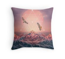 Find the Strength To Rise Up Throw Pillow