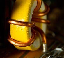 Copper Coils by Chris Cobern