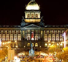 Wenceslas Square by pellinni