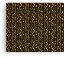 Hot Pepper Pattern Canvas Print