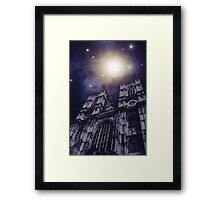 Heavenly Cathedral Framed Print