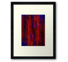 Red Shift Framed Print