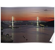 Megami Ohashi Bridge, Nagasaki Poster