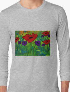 In Her Garden Long Sleeve T-Shirt