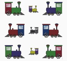 Nursery Trains Kids Tee