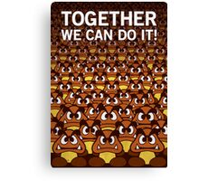 Together we can do it Canvas Print