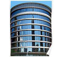 Round windows Poster
