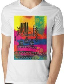 PAINT! Mens V-Neck T-Shirt