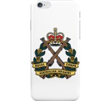 Royal Australian Infantry Corps Color Badge iPhone Case/Skin