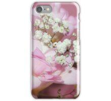 Freesia & Gypsophila Bouquet iPhone Case/Skin