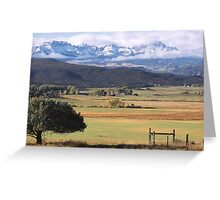 Ouray County Greeting Card
