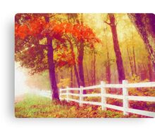 Ethereal Autumn Canvas Print