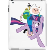 Twilight and Finn iPad Case/Skin