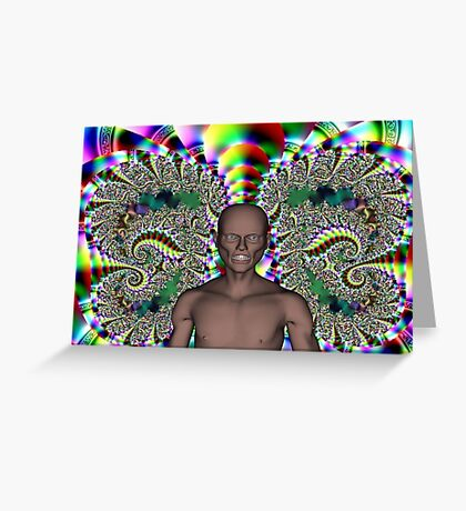 GHOUL IN CHAOS Greeting Card