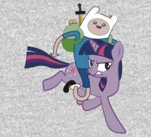 Twilight and Finn Kids Tee