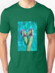 Paddling Feet Unisex T-Shirt