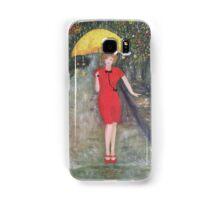 Lady in red Samsung Galaxy Case/Skin