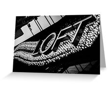 Wave of Lights Greeting Card