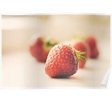 strawberry... Poster