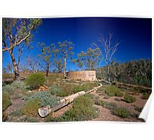 Well on the Wortupa Loop Track, Gammon Ranges, SA Poster