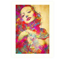 Joan Crawford Art Print