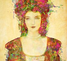 Lillian Gish by Sol Noir Studios