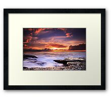 Nature's Theatre - Dee Why Framed Print