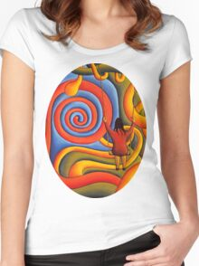 celtic dream Women's Fitted Scoop T-Shirt