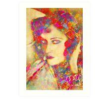Gloria Swanson Art Print