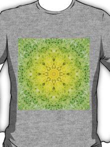 Mandala-Fleur T-Shirt
