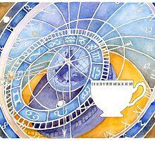 Clock Tea by redgoldsparks