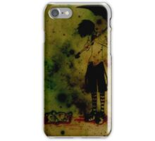 Horror kid iPhone Case/Skin