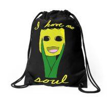 Soulless Flower Drawstring Bag