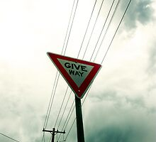 Give Way by Matthew Jones