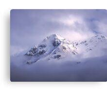 Glacial Peaks Canvas Print