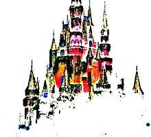 Cinderella Castle II by WDWCEC23