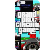 Grand Prix Circuit Game - Formula 1 PC Game 88' iPhone Case/Skin