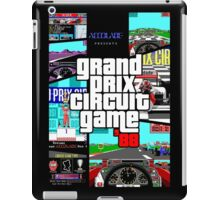Grand Prix Circuit Game - Formula 1 PC Game 88' iPad Case/Skin