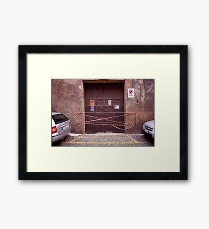 Way In Framed Print