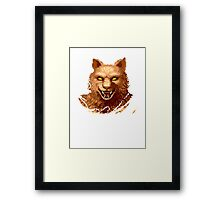 Altered Beast Face Framed Print