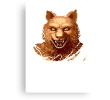 Altered Beast Face Canvas Print