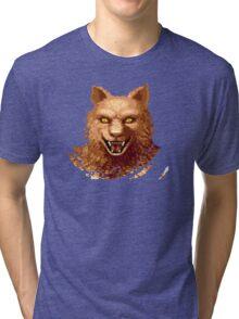 Altered Beast Face Tri-blend T-Shirt