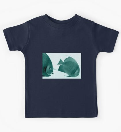 Grey Angelfish - Grand Cayman Kids Tee