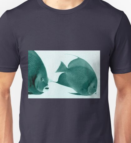 Grey Angelfish - Grand Cayman Unisex T-Shirt