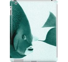 Grey Angelfish - Grand Cayman iPad Case/Skin