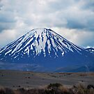 Mt Ngauruhoe by bazcelt