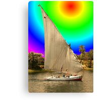 Sailing into Ancient Egypt Canvas Print