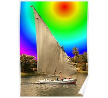 Sailing into Ancient Egypt Poster