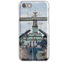 HMS Belfast - Tower Bridge - London iPhone Case/Skin